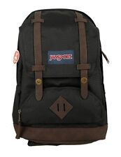 JANSPORT CORTLANDT BLACK COLOR BACKPACK 100%  AUTHENTIC BRAND NEW - USA SHIP