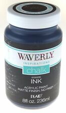WAVERLY Inspirations Matte Chalk Finish Acrylic Paint by Plaid INK  8fl 60689E R