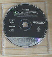 Time Crisis Project Titan - Promo Gioco Completo - New - PlayStation 1 - PSX