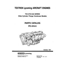 Lycoming Parts Catalog PC-315-5