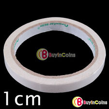 1cm Biadesivo Nastro Adesivo Adesivo Cancelleria Roll Craft Scheda Making Stick