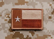 Tan Texas State Flag Lone State Patch Navy SEAL AOR1 Lone Star Survivor SEAL 5