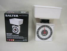 New Salter Scales Kitchen Diet Mini Compact Scale White 022