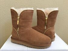 UGG CLASSIC SHORT FLORENCE CHESTNUT BOOT US 7 / EU 38 / UK 5.5 - NIB