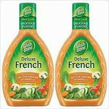 Wish Bone Deluxe French Dressing (Pack of 2) 16 Oz Bottles