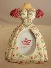 Hand Painted dress shape picture frame 7 X 5 in Milson & Louis