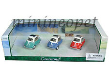 CARARAMA 35317 BMW ISETTA 1/43 DIECAST MODEL CAR BLUE / GREEN / RED 3 CARS SET