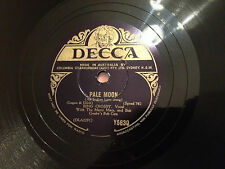 "BING CROSBY ""When Day Is Done""/ ""Pale Moon"" 78rpm 10"" 1942  Y5630  NMNT"