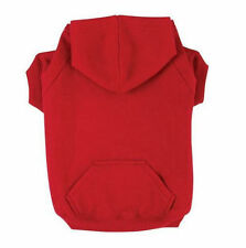 BASIC DOG HOODIE Zack & Zoey Puppy Coat Sweater Pet Sweatshirt 9 Colors  6 Sizes