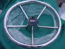"BOSTON WHALER STAINLESS STEEL STEERING WHEEL 13.5"" GRIP BACK BRAND NEW!"