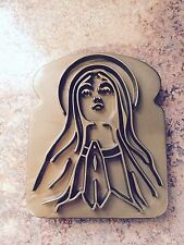 Virgin Mother Mary Holy Toast Miracle Bread Stamper Fred and Friends EUC