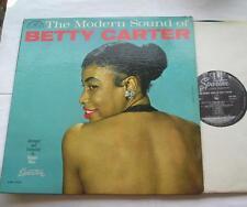BETTY CARTER The modern sound of CANADA ORIG 1960 MONO SPARTON LP JAZZ MEGA RARE
