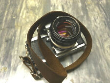 Leather Camera Neck Strap Adjustable Camera Strap for DSLR Camera SLR Camera