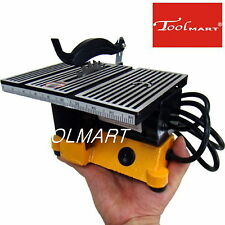 """4"""" 90W MINI ELECTRIC TABLE SAW BENCH TOP GREAT FOR HOBBY OR CRAFT SHIPS BOAT NEW"""