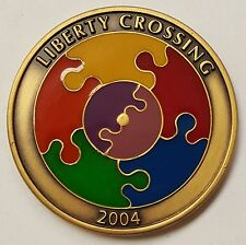 Liberty Crossing LX CPT Original Puzzle Coin CIA CIA-SPS ODNI FBI NCTC 1.75""