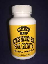 GUEYE MOTHER NATURE'S BEST HAIR GROWTH HERBAL FORMULA 100 CAPSULES