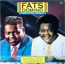 FATS DOMINO - DON'T YOU KNOW - LIBERTY LBL - HOLLAND / EEC  PRESSING - 1987