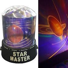 Kids diamond univers planète lumière nuit ciel led projector mood lamp bedroom