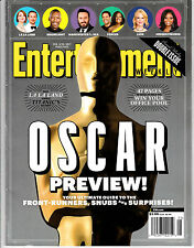 Entertainment Weekly 5 COPIES Oscar Preview Ultimate Guide February 2017