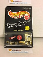 #1 Hiway Hauler GOLD * Mattel Toymakers Limited Edition * Hot Wheels * W7