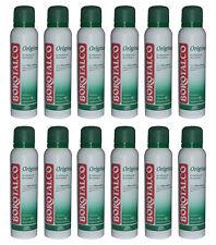 12pz BOROTALCO ORIGINAL deodorante spray profumo di borotalco 150ml NUOVO