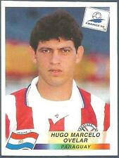 PANINI WORLD CUP FRANCE 1998- #276-PARAGUAY-HUGO MARCELO OVELAR