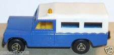 OLD EFSI HOLLAND LAND ROVER BLEU FONCE GIROPHARE REF 155 TOIT BLANC 1/70