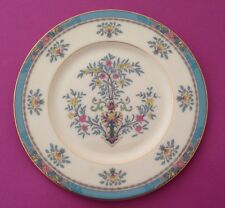 Lenox Blue Tree China Gold Backstamp 10-3/8 Inch Dinner Plate Ivory Blue Yellow