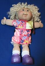 Cabbage Patch Kid Blue Eyed Blonde 18 Inches – Excellent Condition - Play Along