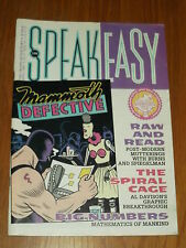 SPEAKEASY #108 APRIL 1990 BIG NUMBERS SPIRAL CAGE BRITISH MAGAZINE^