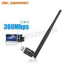 300M Wireless USB WiFi Adapter Network LAN Card Realtek RTL8192EU 5dBi Antenna