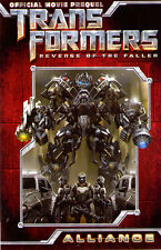 MOVIE PREQUEL TRANSFORMERS REVENGE OF THE FALLEN ALLIANCE Graphic Novel