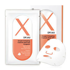 [DR. WU] Oxygen Energizing Capsule X with Oxygeskin Facial Mask 3pcs/1box NEW