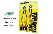 ASSIST HOOK DOPPIO n 2 SURE CATCH PER KABURA & INCHIKU