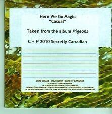 (CY812) Here We Go Magic, Casual - 2010 DJ CD
