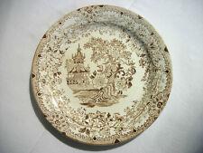 Piatto Decorato VERBANUM LAVENO Porcellana Ceramica Collezione Soprammobile