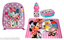 Minnie Mouse Topolina zaino zainetto 3D,asilo,scuola,set merenda