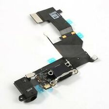 Charging Port Assembly Part Flex Cable per  iPhone 5s NERO BLACK