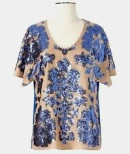 Tracy Reese Sequined Blouse-Neiman Marcus/Target- Small-Sold Out- New with Tags!