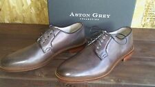 NEW MEN'S SHOES ASTON GREY Collectio Barry chestnut size 8 Oxford 500511