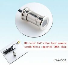 """HD Mini CMOS Surveillance CCTV Door Eye Hole Security Color Camera Cam 1/4"""" CMOS"""