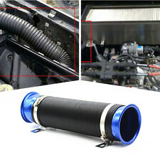 "Car 3"" Multi Flexible Autos Turbo Cold Air Intake Duct Inlet Pipe Hose Tube Blue"
