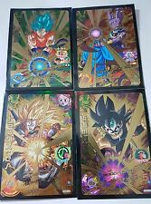 Carte Dragon Ball Z DBZ Dragon Ball Heroes God Mission Promo GDDS #Full Set 2015