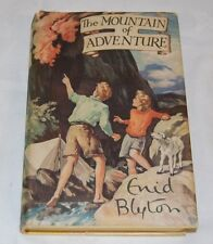 Enid Blyton The Mountain Of Adventure H/back & dust-jacket Reprint clean HFC /B1