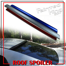 01-05 Painted FOR Honda Civic 7th Rear Roof Lip Spoiler Wing Window 2DR 4DR