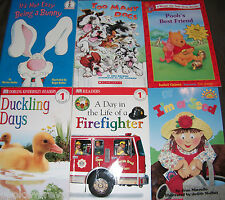 Lot of 10 Usboure/Jumpstart/Hello Reader/Dorling Kindersley Books Level 1-LOT#2