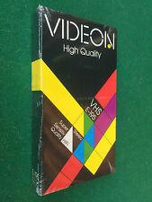 PAL/VHS Vergine VIDEON E-195 HIGH QUALITY Made Germany Vintage NUOVA/SIGILLATA