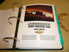 2001 Chevrolet Silverado 3500 Chassis Cab Product Portfolio Pages Facts