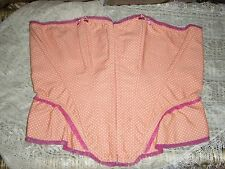 "Ann summers, rose corail ""angel delight"" corset, taille 16, nwt."