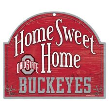 "Ohio State Buckeyes Official NCAA 10""x11"" Wood Sign by Wincraft 901378"